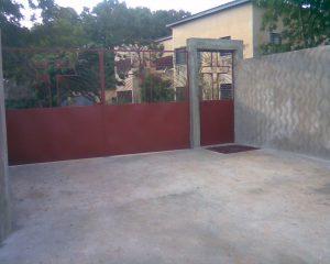 Brama Misji w Tchebebe