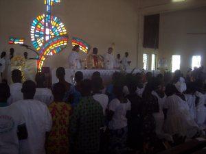 Kościół w Tchebebe