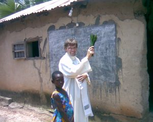 ks. Marian Szatkowski w Togo