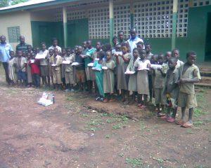 Uczniowie Szkoły Podstawowej w Solimde